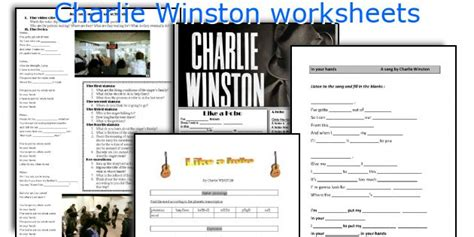 English Teaching Worksheets Charlie Winston