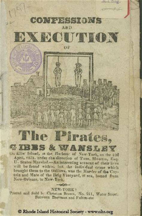 confessions  execution   pirates gibbs wansley
