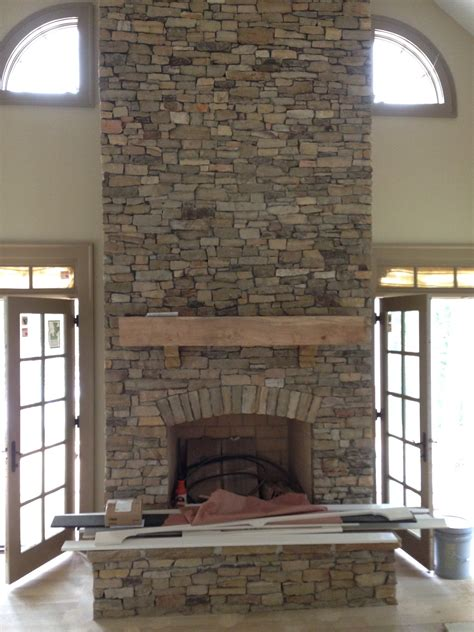 Veneer Home Ideas Pinterest Porch Fireplace Stone