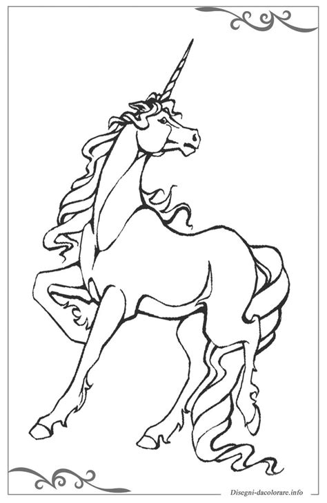 disegni colorati ragazze impressionante immagini di unicorno disegnati e colorati