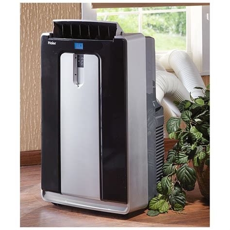 fans that cool like air conditioners haier 14 000 btu portable room air conditioner 590946
