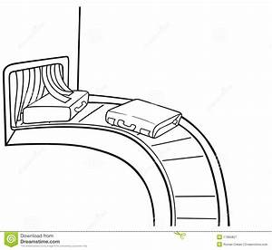 Baggage Claim stock vector. Image of cartoons, black ...