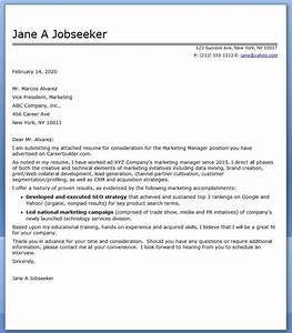 Marketing munications Manager Cover Letter Sample