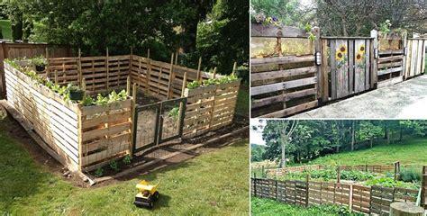wood pallet fence ideas   build home design