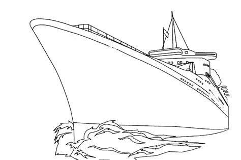 Dessin à Imprimer Bateau Titanic by Bateau Navire 88 Transport Coloriages 224 Imprimer