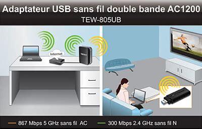 clé wifi pour pc de bureau trendnet tew 805ub carte réseau trendnet sur ldlc com