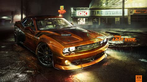 Dodge Challenger 4k Wallpaper