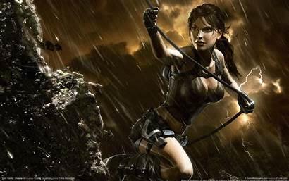Wallpapers Cool Games Desktop Tomb Croft Lara