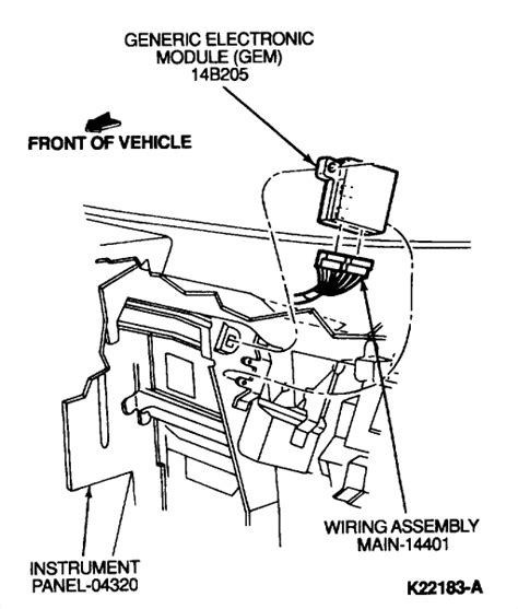 electronic throttle control 1999 ford windstar windshield wipe control windshield wipers are not working on the plug that plugs into the motor only the wire has 12