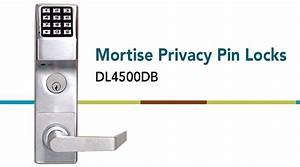 Mortise Privacy Pin