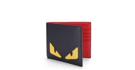 lyst fendi simple monster wallet  red  men