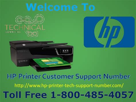 hp tech support phone number hp printer support phone number 1 800 485 4057