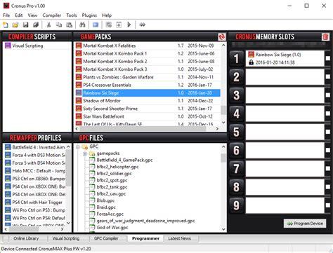siege promod hardware cronus max plus stargamers