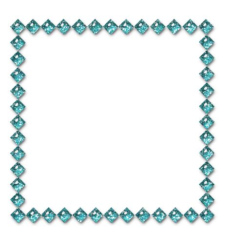 Templates, cliparts and more: Several blue frames