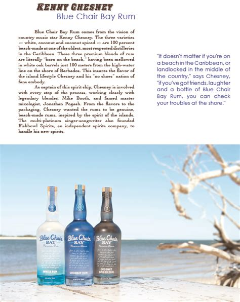 Kenny Chesney Blue Chair Bay Rum Contest by Kenny Chesney Rum Blue Chair Bay Coconut Spiced Rum