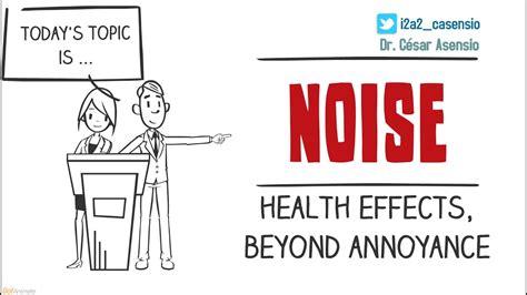 noise health effects  annoyance youtube