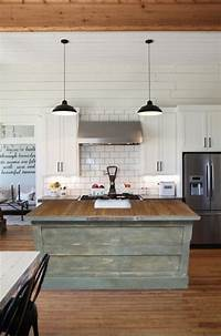vintage kitchen island Vintage Farmhouse Kitchen Islands: Antique Bakery Counter ...