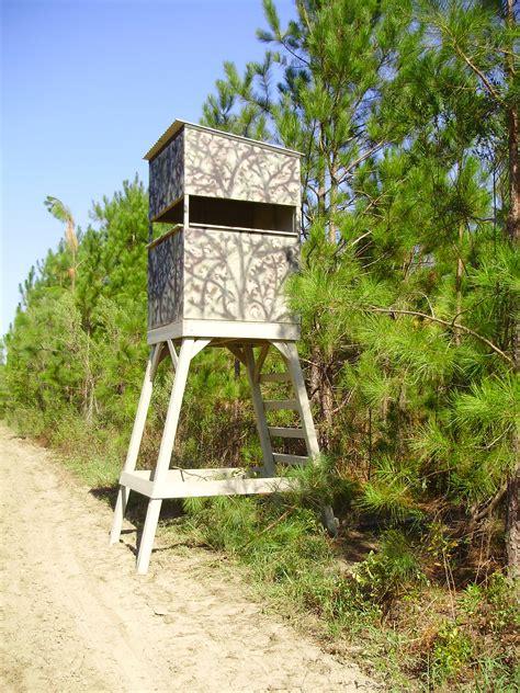 Wooden Deer Stand Plans
