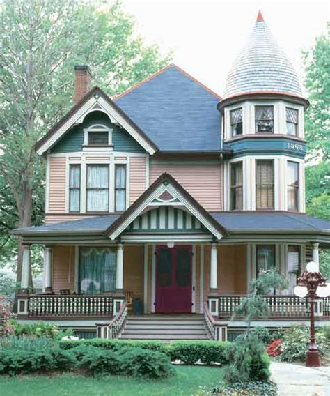 five color paint color ideas for ornate victorian houses this house
