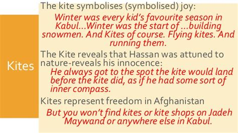 Symbolism In The Kite Runner Quotes