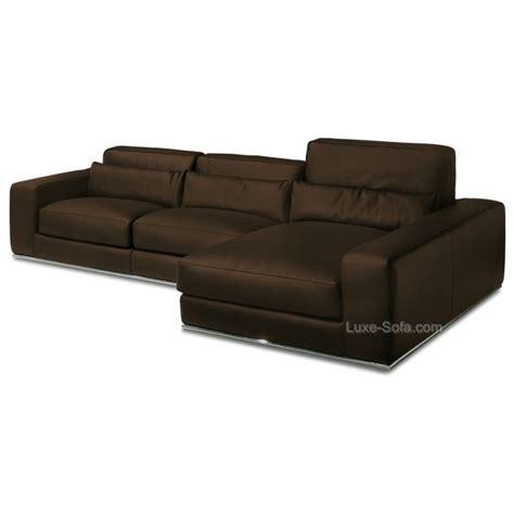 canape de luxe canapé d 39 angle de luxe en cuir de vachette matisse verysofa