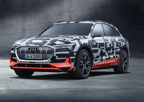 2019 Audi Etron Suv Is Open For Reservation, Starts From
