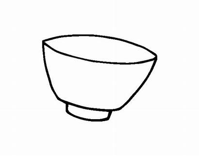 Bowl Coloring Colorear Super Para Trophy Drawing