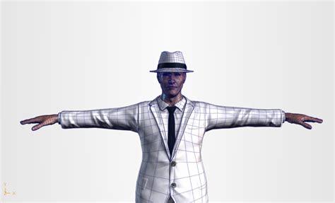 High Poly Mafia Boss By Pixelosity 3docean