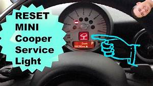 How To Reset Mini Service Light  06-13