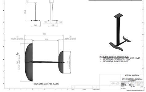 Model Hydrofoil Boat Plans by Kite Hydrofoil Plan Yachting Kites