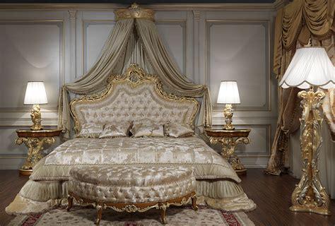 hotel chambre romantique da letto classica di lusso in stile barocco romano