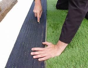 Pose Gazon Synthetique Sur Terre : pose de gazon synth tique sur terre pose gazon ~ Dailycaller-alerts.com Idées de Décoration
