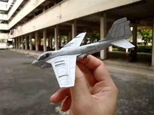 Grumman A-6 Intruder Paper Plane