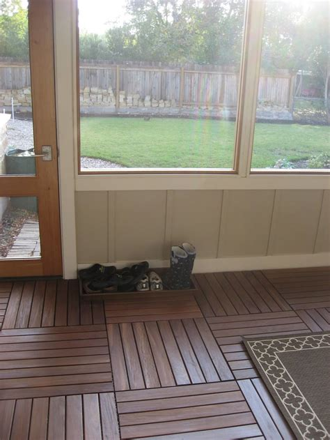 flooring for screened in porch gurus floor