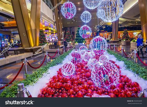 Las Vegas Dec 18 Christmas Decorations Stock Photo