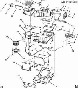 Chevrolet Cavalier Motor  Air Conditioning  A  C