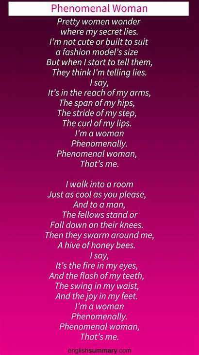 Phenomenal Woman Maya Angelou Analysis Poem Poems