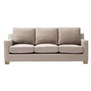 home decorators collection garrison natural linen bonded With garrison leather sectional sofa