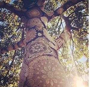 Bohemian Wedding - Bohemian Decorations - Lace On Trees ...