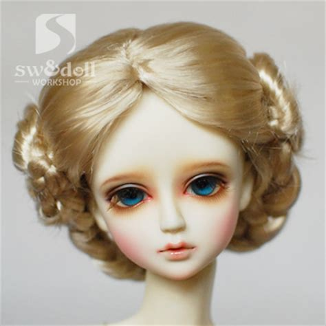 Flaxen Hair by Bjd Sd Doll Wig Flaxen Hair In Dolls From Toys Hobbies