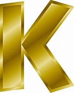Free gold letter k clipart free clipart graphics images for Gold letter k