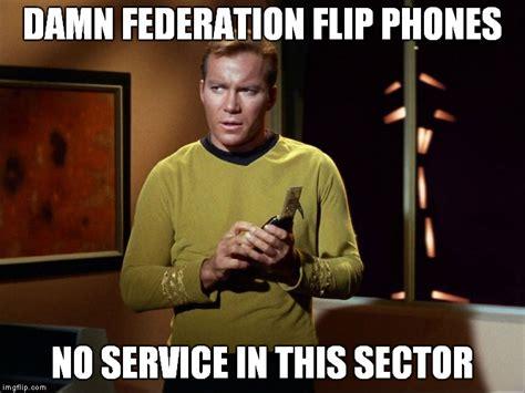 Captain Kirk Memes - captain kirk with communicator imgflip