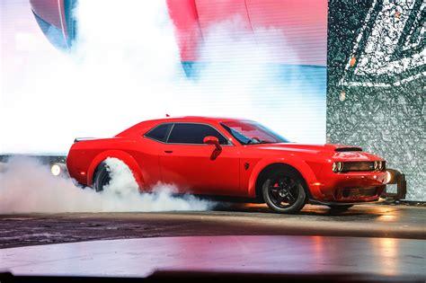 dodge challenger demon 2018 dodge challenger srt demon first look 840 hp 770 lb
