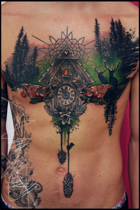 beste brust und dekollete tattoos tattoo bewertungde