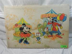 VINTAGE DISNEY CIRCUS WALL ART
