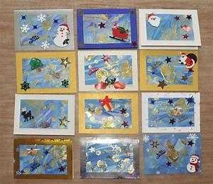 Weihnachtskarten Basteln Grundschule : kinder malen und basteln weihnachtskarte als ~ Orissabook.com Haus und Dekorationen