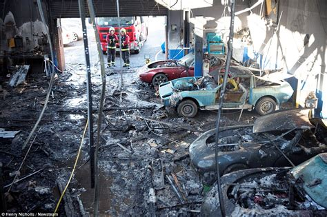 Central Sports Cars Fire Sees Ten Supercars Worth £600,000