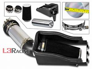 Cold Shield Air Intake Kit   Black Filter For 99
