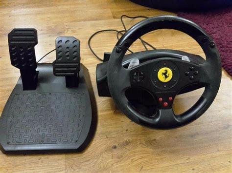 thrustmaster gt experience thrustmaster gt experience racing wheel 3 in 1 in worthing west sussex gumtree