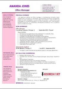 Best Resume For Office Manager by Office Manager Resume Template Exles Of Office Manager Resumes This Is A Collection Of